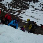 Grøvling i snøskavelen