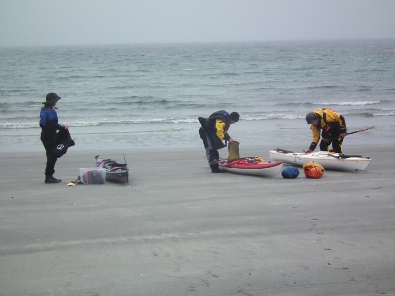 Forblåst på stranda