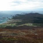 Utsikt fra fjellturen