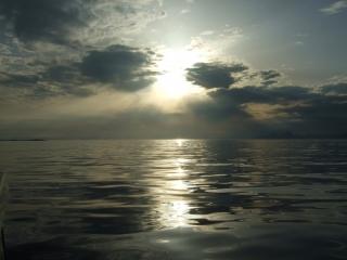 Midnattsol i Vestfjorden