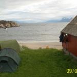 Kjempefin teltplass!