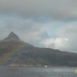 Vi satte farge på øya, før vi dro!