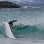 Rulle i bølge i Tysfjord